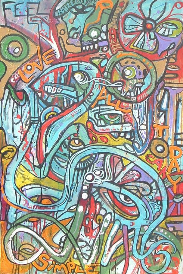 Crazyredbeard Aka Jon Blake Live Painting Phanartist