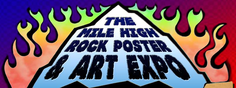 mile high rock poster and art expo