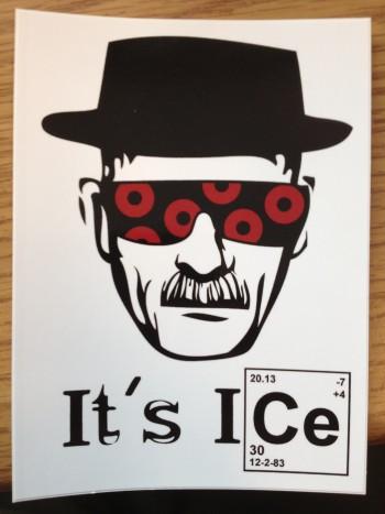 It's Ice Sticker 1-1