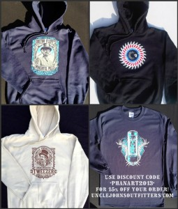 Phanart holiday guide hoodies and longsleeves