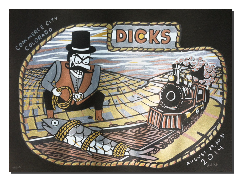 Nick Doyle's 2014 Dick's Print