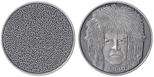 10th Anniversary Maze/Bowie Coin From Adam Davidoff