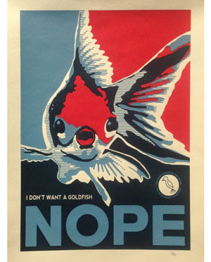 NOPE! Brian Bojo Prints for The Mockingbird Foundation