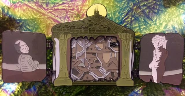 Blast-O-Plast Pins: Maze>Bowie